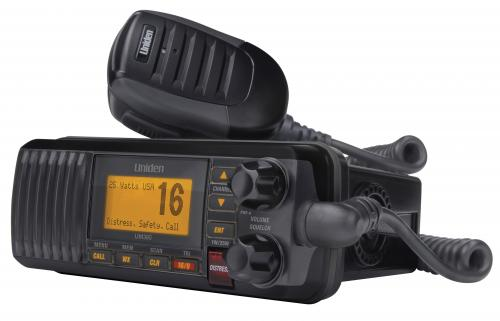 Uniden UM385BK VHF Marine Radio with Weather Alert