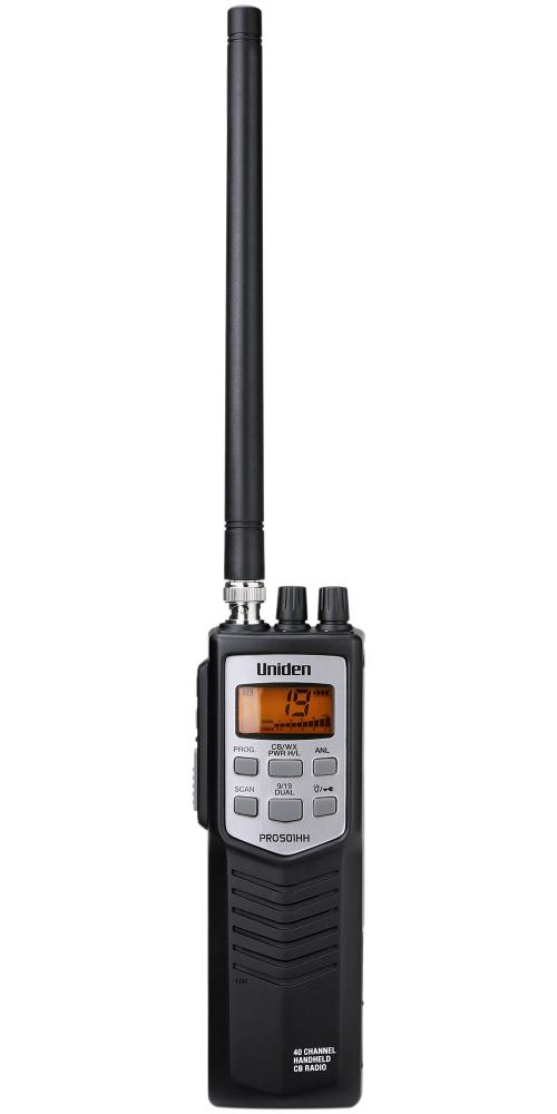 Uniden Pro501HH Handheld 40 Channel CB Radio with Weather and Scan