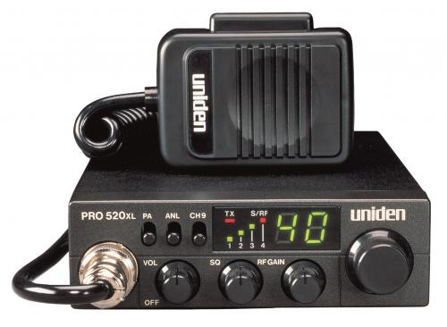Uniden PRO520XL Compact CB Radio with PA Jack