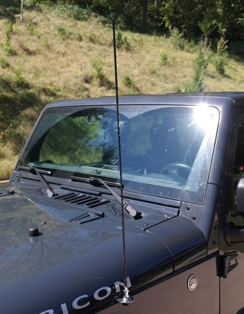 2007 + Jeep Fender Mount CB Antenna Kit - Everything Included