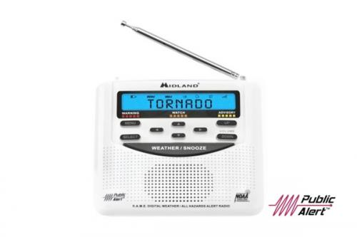 Midland WR120 AM/FM Weather Alert Radio