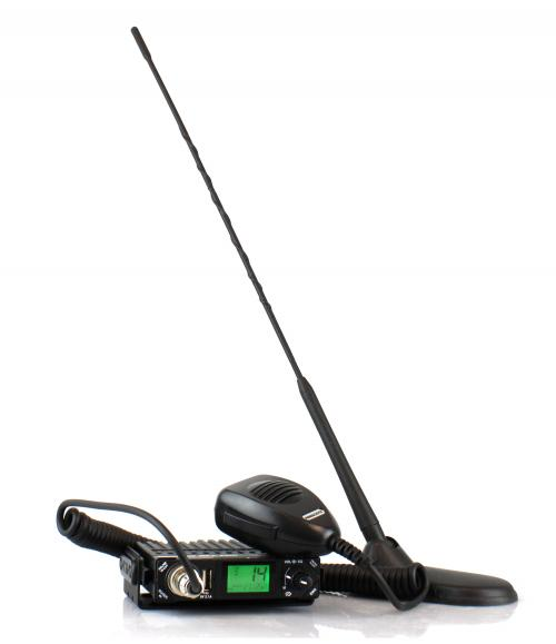 President Bill CB Radio with New York Antenna