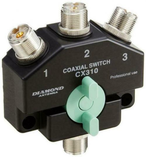 Diamond CX-310 Heavy Duty Wideband Coax Switch