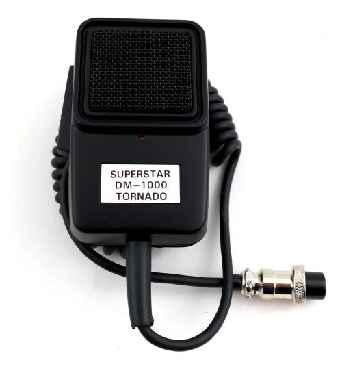 Superstar DM-1000 Tornado CB Radio Echo Microphone