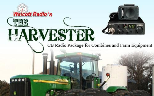 The Harvester CB Radio and Antenna Package for Farming and Combines