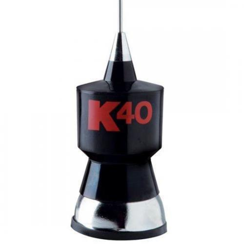 K40 Trunk Mount CB Antenna Black