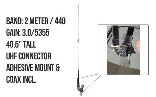 Diamond NR770HRKS Dual band Mobile Antenna