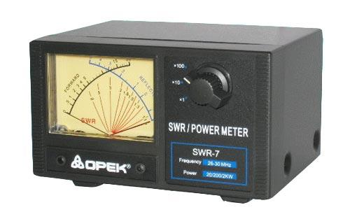 OPEK SWR-7 CB and 10 METER SWR POWER METER