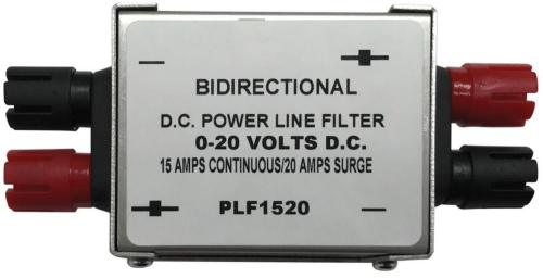 PLF520 15 Amp DC Power Line Filter Removes Unwanted RF Interference