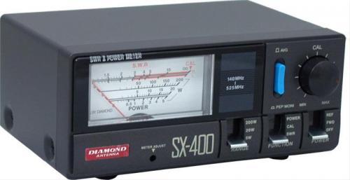 Diamond Antenna SX-400 SWR and Power Meter for UHF/VHF