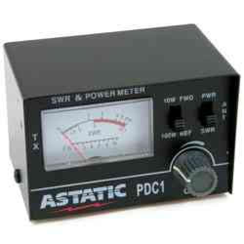 Astatic - PDC1 - 100 Watt Power & SWR Meter