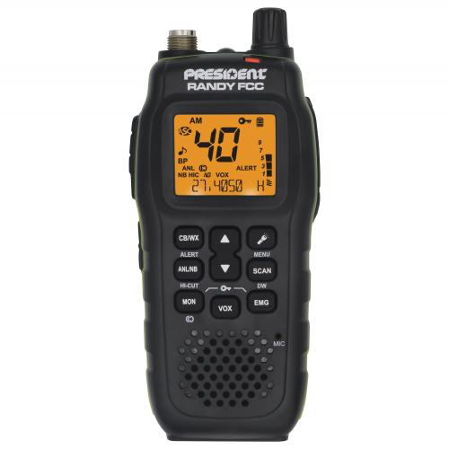 RANDY FCC Handheld CB Radio
