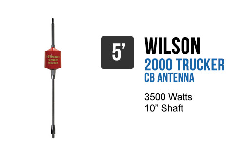 Wilson Trucker 2000 Antennas 10 Quot Shaft Red